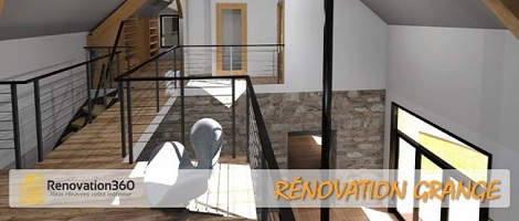 Rénovation-grange